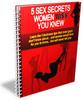 Thumbnail 5 Sex Secrets Women Wish You Knew - Ebook