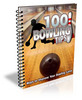 Thumbnail 100 Bowling Tips - Ebook with MRR
