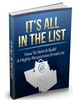 Thumbnail Its All In The List - Ebook with MRR