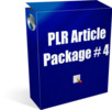 Thumbnail PLR Article Package #4