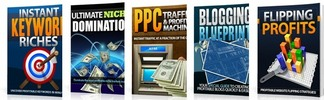 Thumbnail Profitable Blog Pack - 5 Ebooks with MRR
