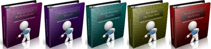 Thumbnail PLR Ebook Collection #2 - 5 eBooks with PLR