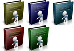 Thumbnail PLR Ebook Collection #6 - 5 eBooks with PLR