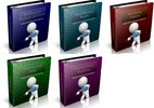 Thumbnail PLR Ebook Collection #8 - 5 eBooks with PLR