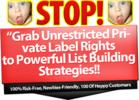 Thumbnail Noob List Building - eBook with PLR