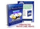 Thumbnail Responsive List Building Secrets  - eBook with PLR