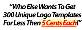 Thumbnail 300 Unique Logo Templates and Bonus