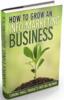 Thumbnail How to Grow an InfoMarketing Business - eBook Audio & Pdf