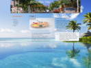 Thumbnail Vacation Website Template with PLR