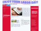 Thumbnail Labor Day Website Templates with PLR