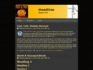 Thumbnail Halloween Website Templates # 1 With Plr