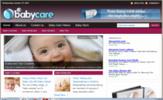 Thumbnail Baby Care Blog - WordPress Blog with PLR