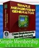 Thumbnail Simple Membership Generator - Software with RR