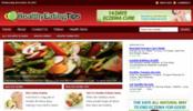 Thumbnail Healthy Eating Blog - WordPress Blog with PLR