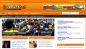 Thumbnail Basketball Blog - WordPress Blog with PLR
