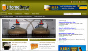 Thumbnail Home Brewing Blog - WordPress Blog with PLR