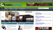 Thumbnail Video Gaming Blog - WordPress Blog with PLR