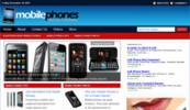 Thumbnail Mobile Phone Blog - WordPress Blog with PLR