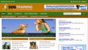 Thumbnail Dog Training Blog - WordPress Blog with PLR