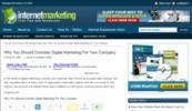 Thumbnail Internet Marketing Blog - WordPress Blog with PLR