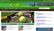 Thumbnail Tennis Blog - WordPress Blog with PLR