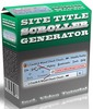 Thumbnail Site Title Scroller Generator - Software & Video with MRR