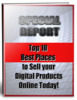 Thumbnail Top Ten Best Marketplaces To Sell Your Digital Products - eBook with PLR
