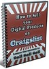 Thumbnail How To Sell Your Digital Products On Craigslist - eBook with