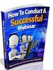 Thumbnail How to Conduct a Successful Webinar - eBook & Articles with MRR