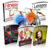 Thumbnail Health And Fitness Package - 5 eBooks and Bonus with MRR