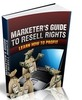 Thumbnail Marketers Guide To Resell Rights - eBook with MRR