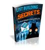 Thumbnail List Building Secrets - eBook with MRR