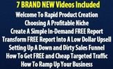 Thumbnail Rapid Product Creation ( Instruction Videos with MRR License)