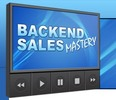 Thumbnail Backend Sales Mastery ( Instruction Video with MRR License)