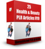 Thumbnail 25 Health & Beauty PLR Articles V19 - Articles with PLR License
