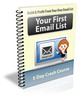 Thumbnail Your First Email List - ECourse with PLR