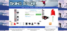 Thumbnail Skiing Amazon Store - WP Blog with PLR