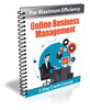 Thumbnail Online Business Management - eCourse with PLR