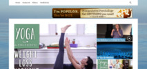 Thumbnail Meditation Yoga Blog - WP Blog with PLR