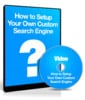 Thumbnail Set Up Your Own Search Engine - Instruction Video with MRR License