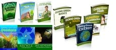 Thumbnail Going Green Niche Pack - 15 eBooks
