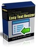 Thumbnail Easy Text Resizer - Software with MRR