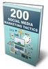 Thumbnail 200 Social Media Marketing Tactics - eBook with MRR