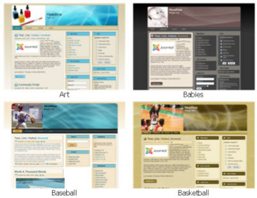 Pay for 25 HOT Matching Niche Templates For Your Blogs And Websites