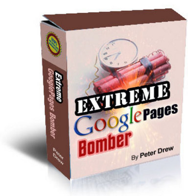 Pay for Extreme Google Pages Bomber with Resell Rights