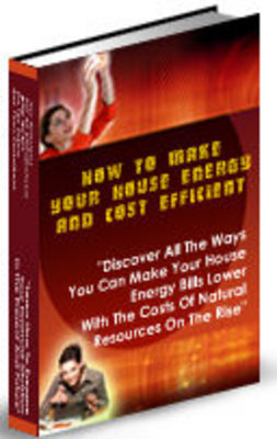 how to make your house energy efficient
