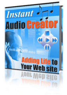 Pay for Instant Audio Creator - Master Resell Rights