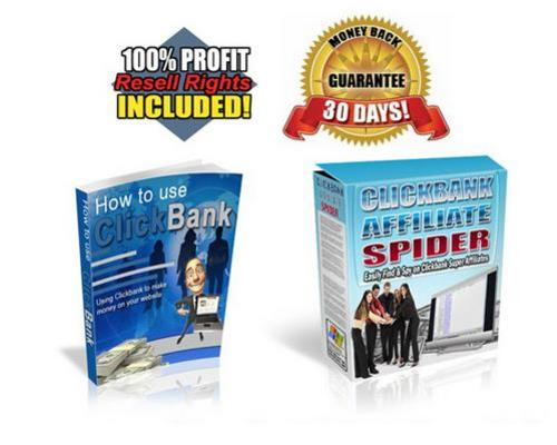 Pay for How To Use ClickBank mrr + FREE Bonus Software
