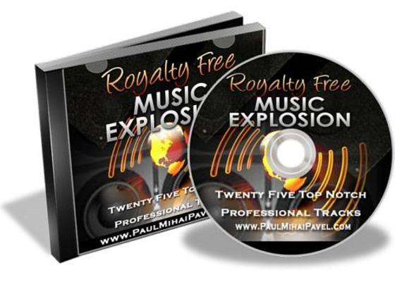 Pay for Royalty Free Music Explosion With Master Resale Rights
