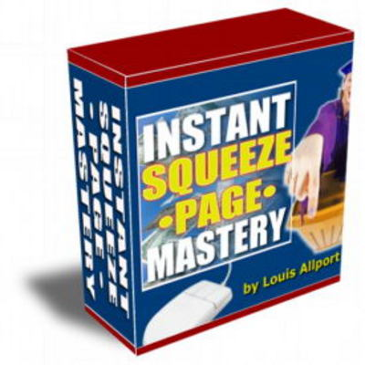 Pay for  Instant Squeeze Page Mastery Videos with Resell Rights